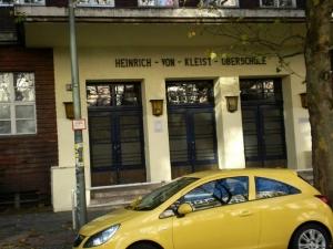 Heinrich von Kleist School on Levetzowstrasse