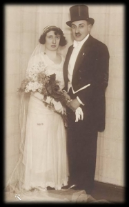 Hermann Lewin and wife Rachel Messing