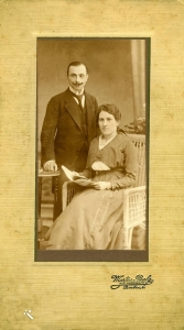 Sally and Emma Gottfeld shortly after they were married